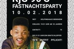 Fastnachtsparty 2018